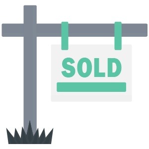 Homes sold with CA Flat Fee